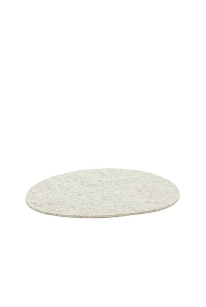 Felt Trivet Stone Medium - Heather