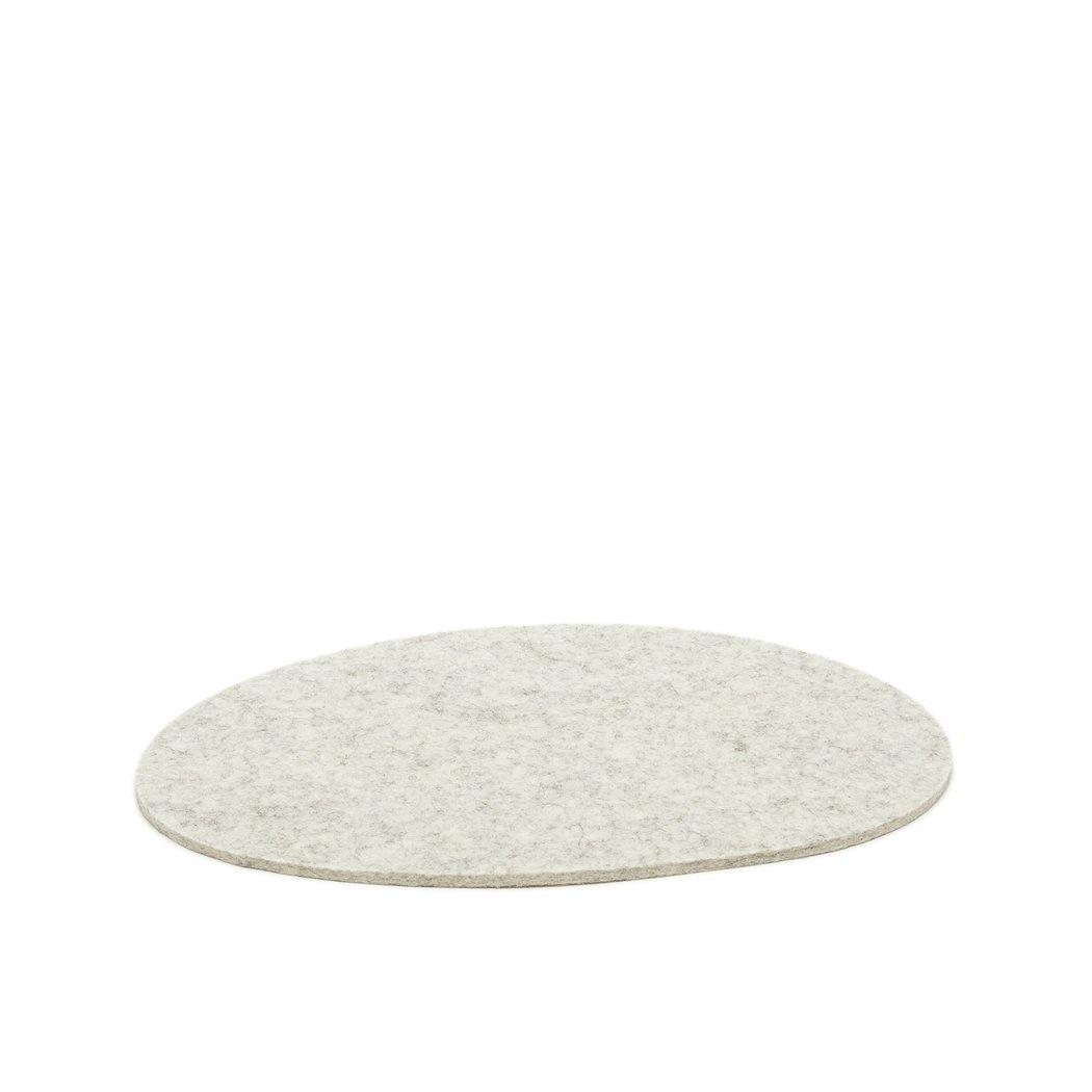Felt Trivet Stone Medium - Heather-1