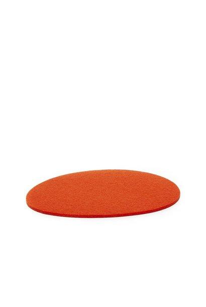 Felt Trivet Stone Medium - Orange