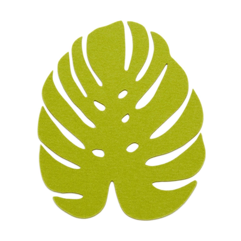 Monstera Trivet Medium - Pistachio-2