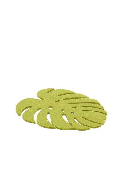 Monstera Trivet Medium - Pistachio