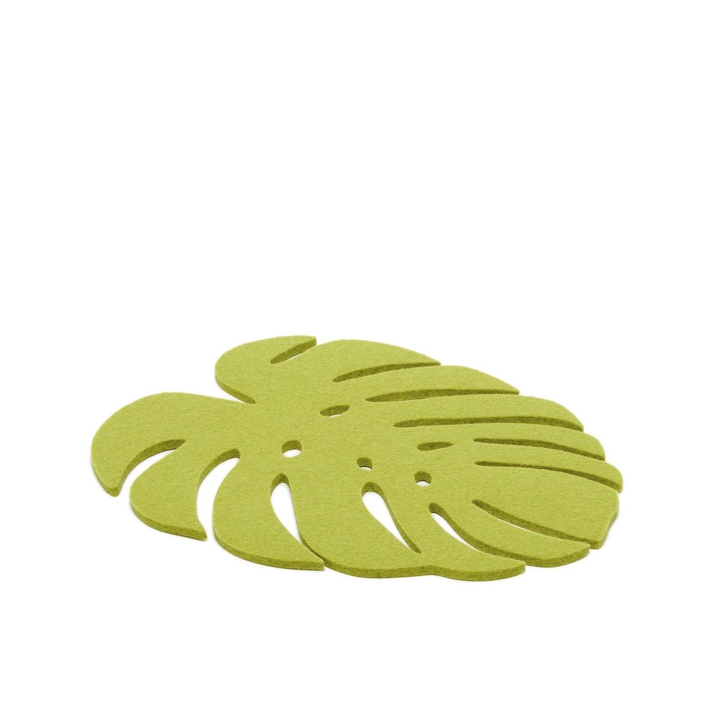 Monstera Trivet Medium - Pistachio-1