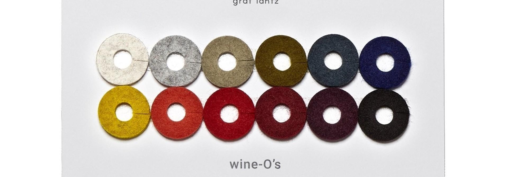 Felt Wine-O's Round - Autumn