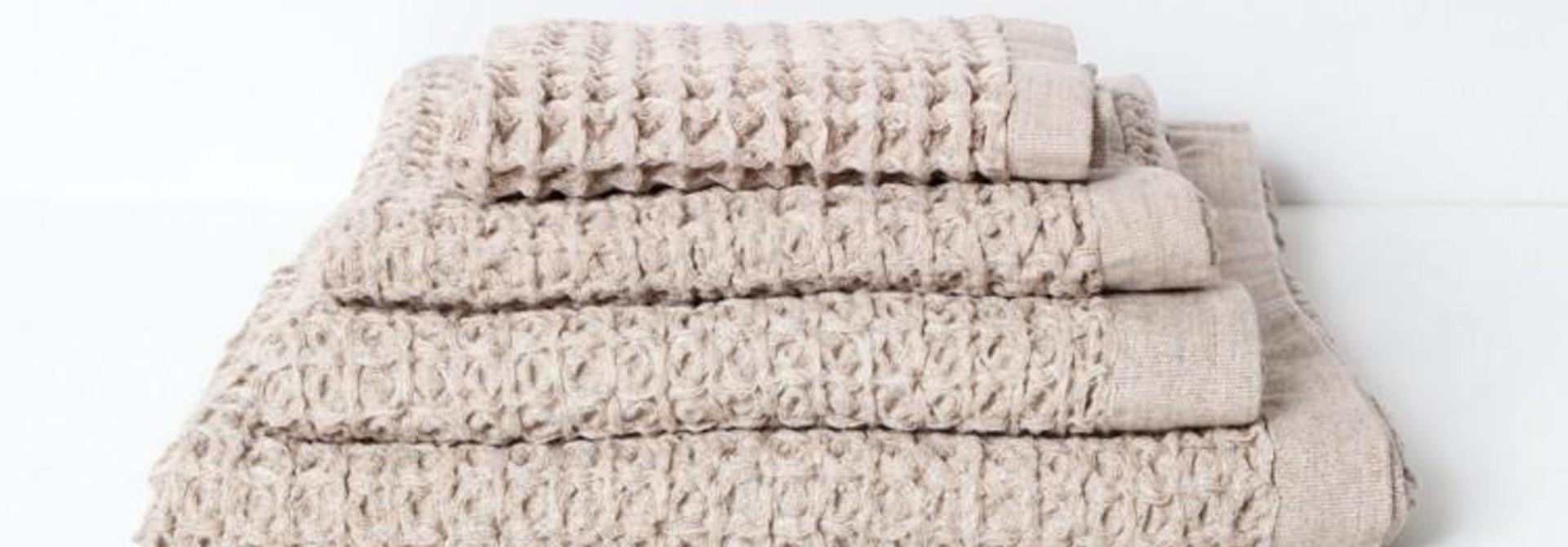 Lattice Hand Towel - Beige