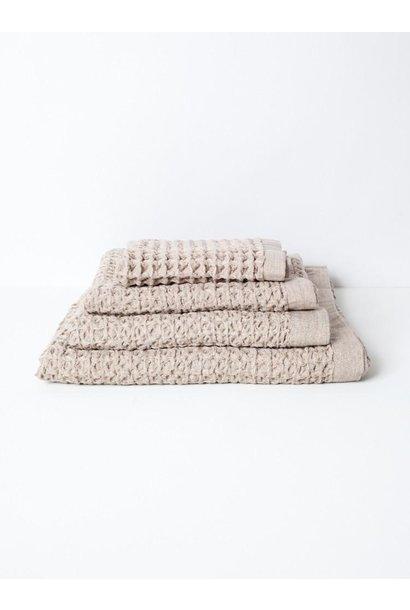 Lattice Bath Towel - Beige