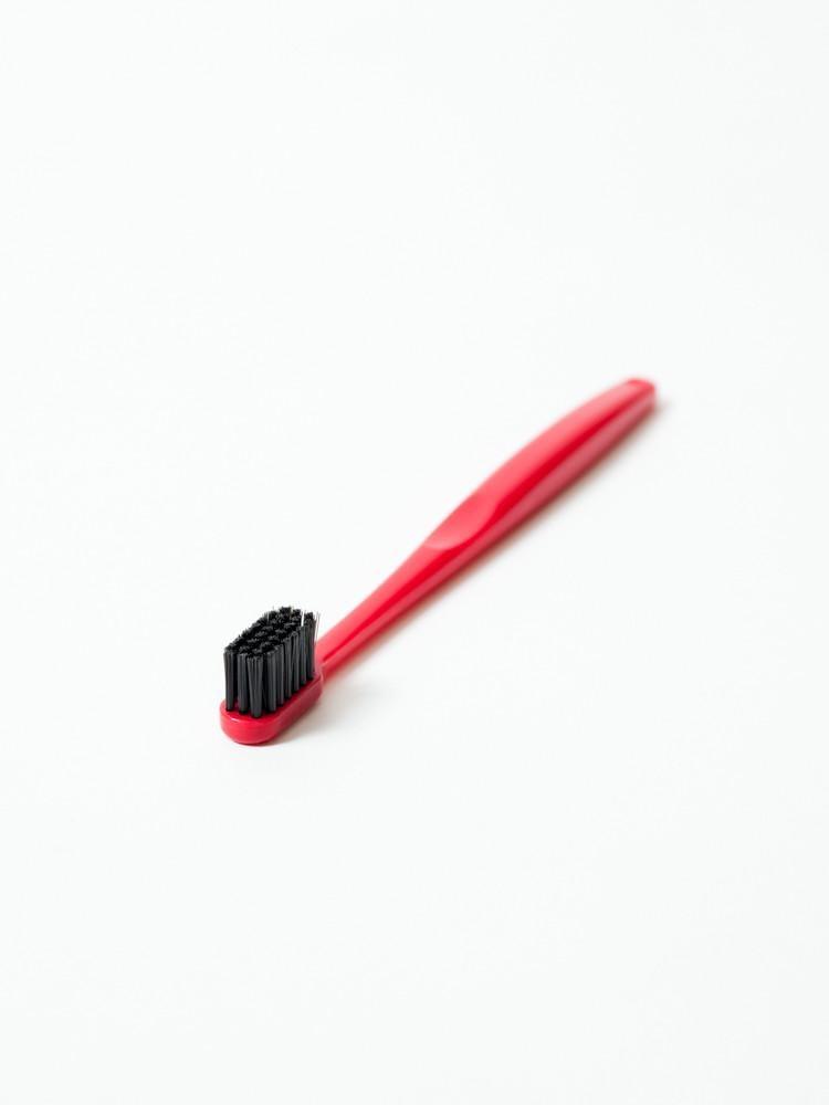Binchotan Charcoal Toothbrush - Standard, Red-1