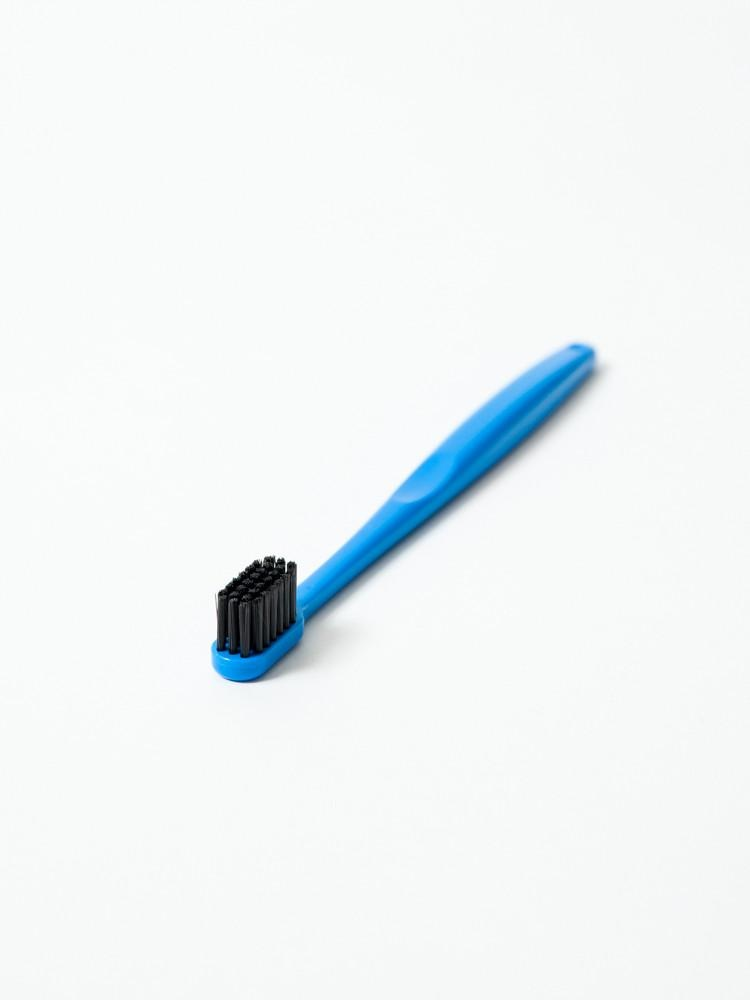 Binchotan Charcoal Toothbrush - Standard, Blue-1
