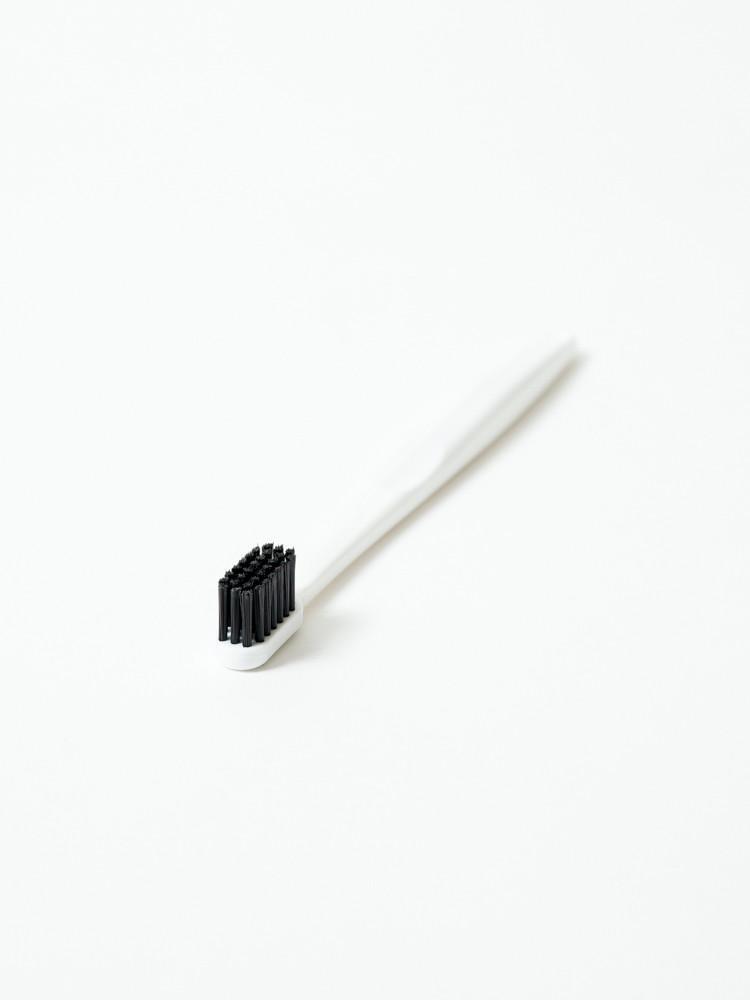 Binchotan Charcoal Toothbrush - Standard, White-1