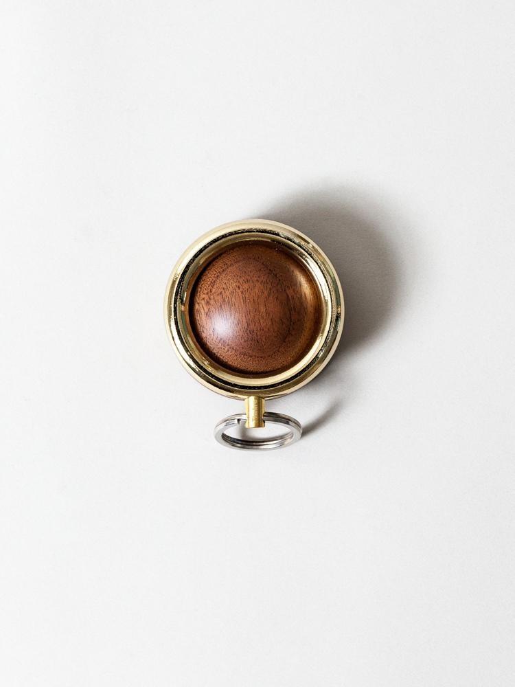 Timbre WAKKA Key Holder - Gold/Walnut-1