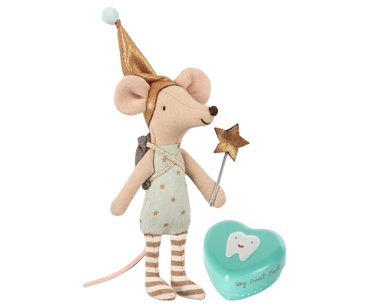 Tooth Fairy - Big Brother Mouse w. Metal Box-2