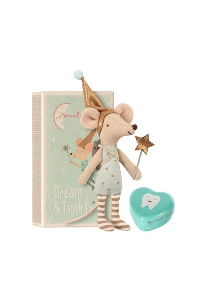 Tooth Fairy - Big Brother Mouse w. Metal Box