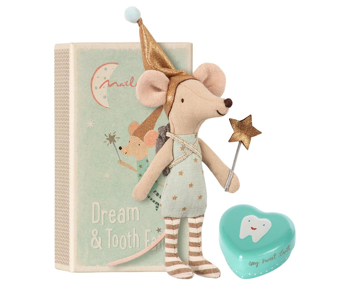 Tooth Fairy - Big Brother Mouse w. Metal Box-1