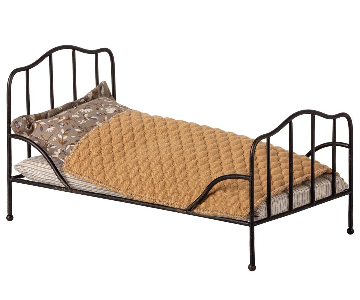 Vintage Bed, Mini - Anthracite-1