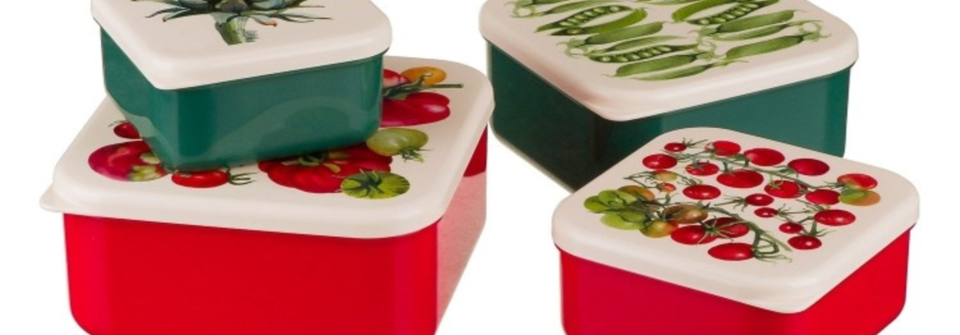 Vegetable Garden - Snack Set (4)