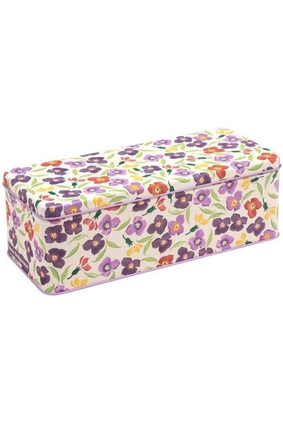 Wallflower - Long Rectangular Tin