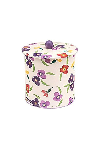 Wallflower - Tin Biscuit Barrel