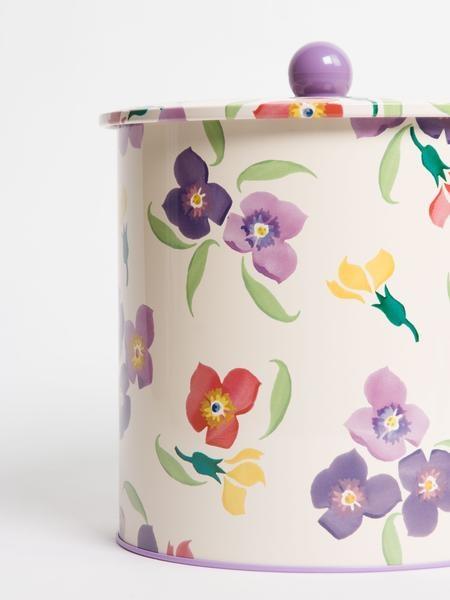 Wallflower - Tin Biscuit Barrel-3