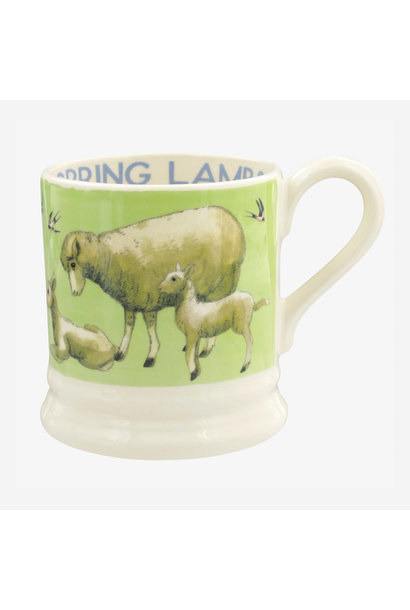 Bright New Morning Spring Lambs - 1/2 Pint Mug