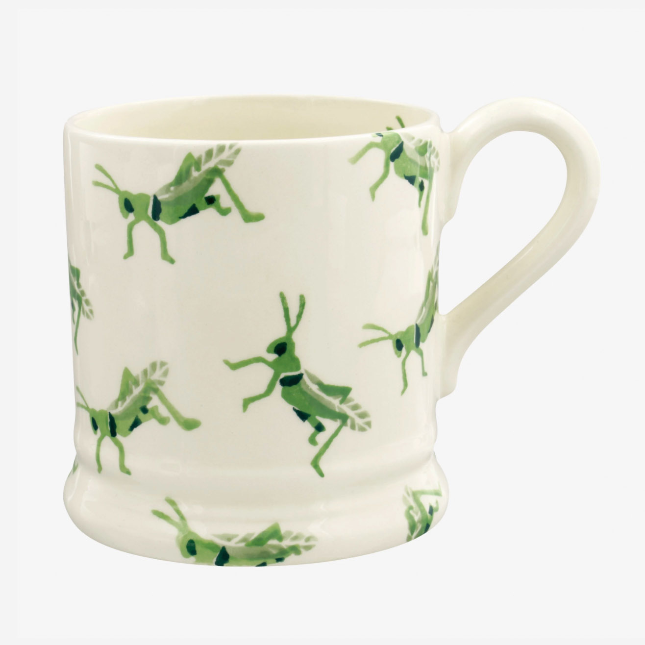 Insects Grasshopper - 1/2 Pint Mug-1