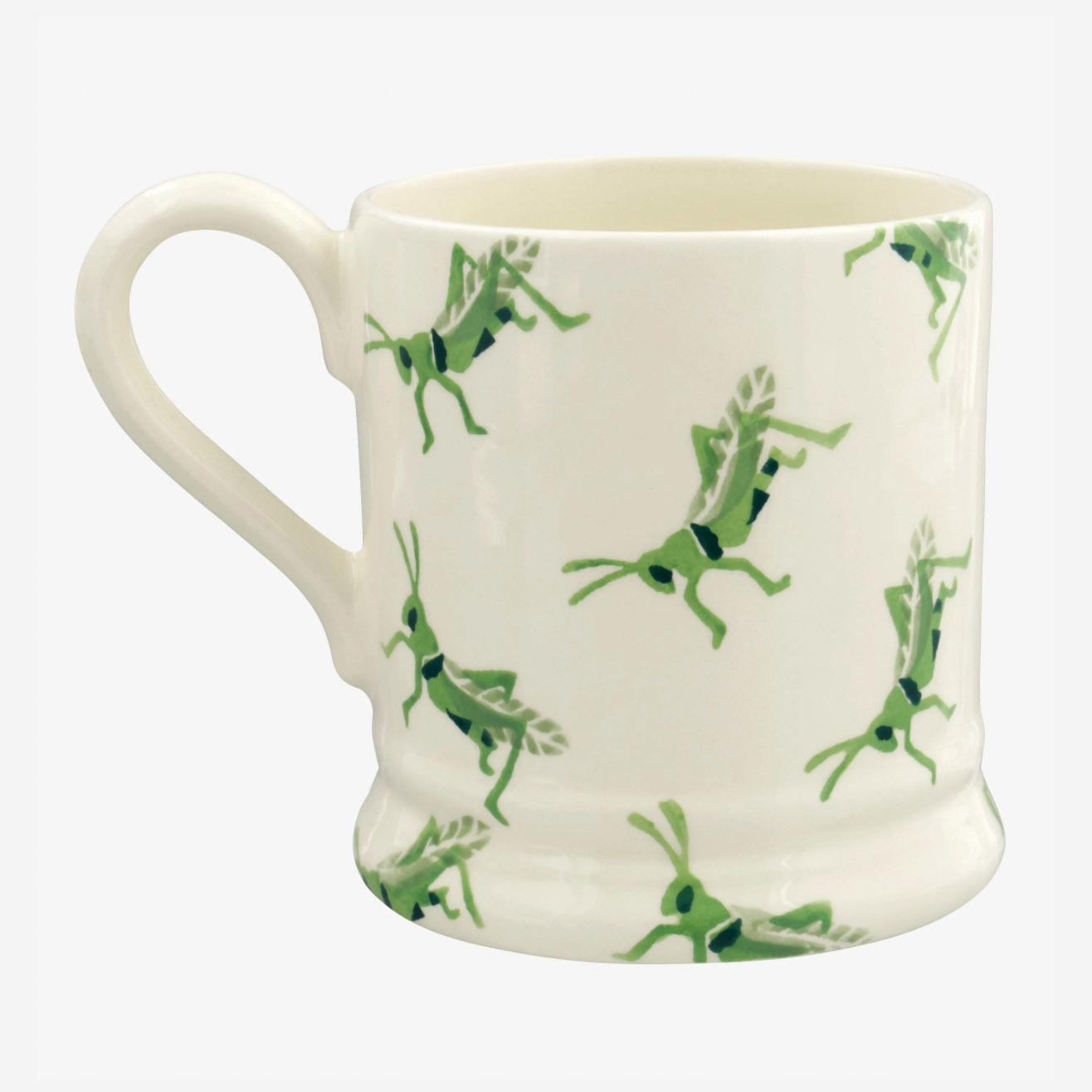 Insects Grasshopper - 1/2 Pint Mug-3