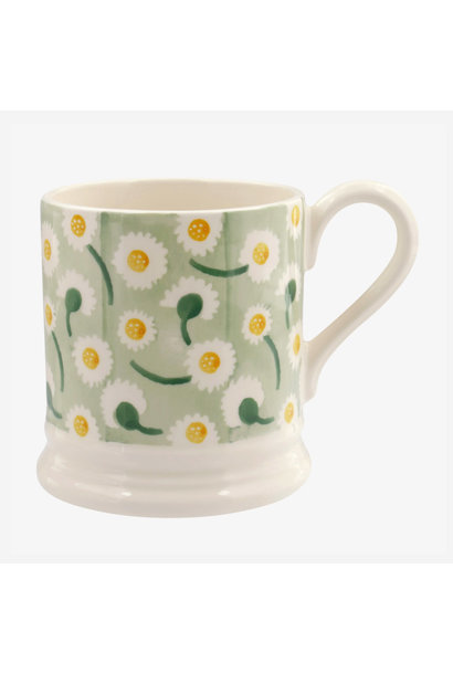 Daisy Light Green - 1/2 Pint Mug