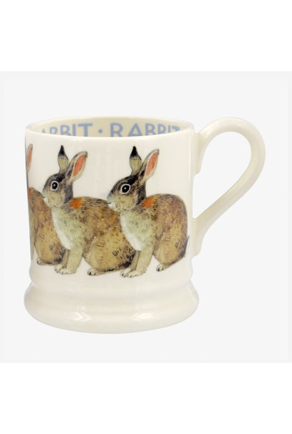 Animals Rabbit - 1/2 Pint Mug