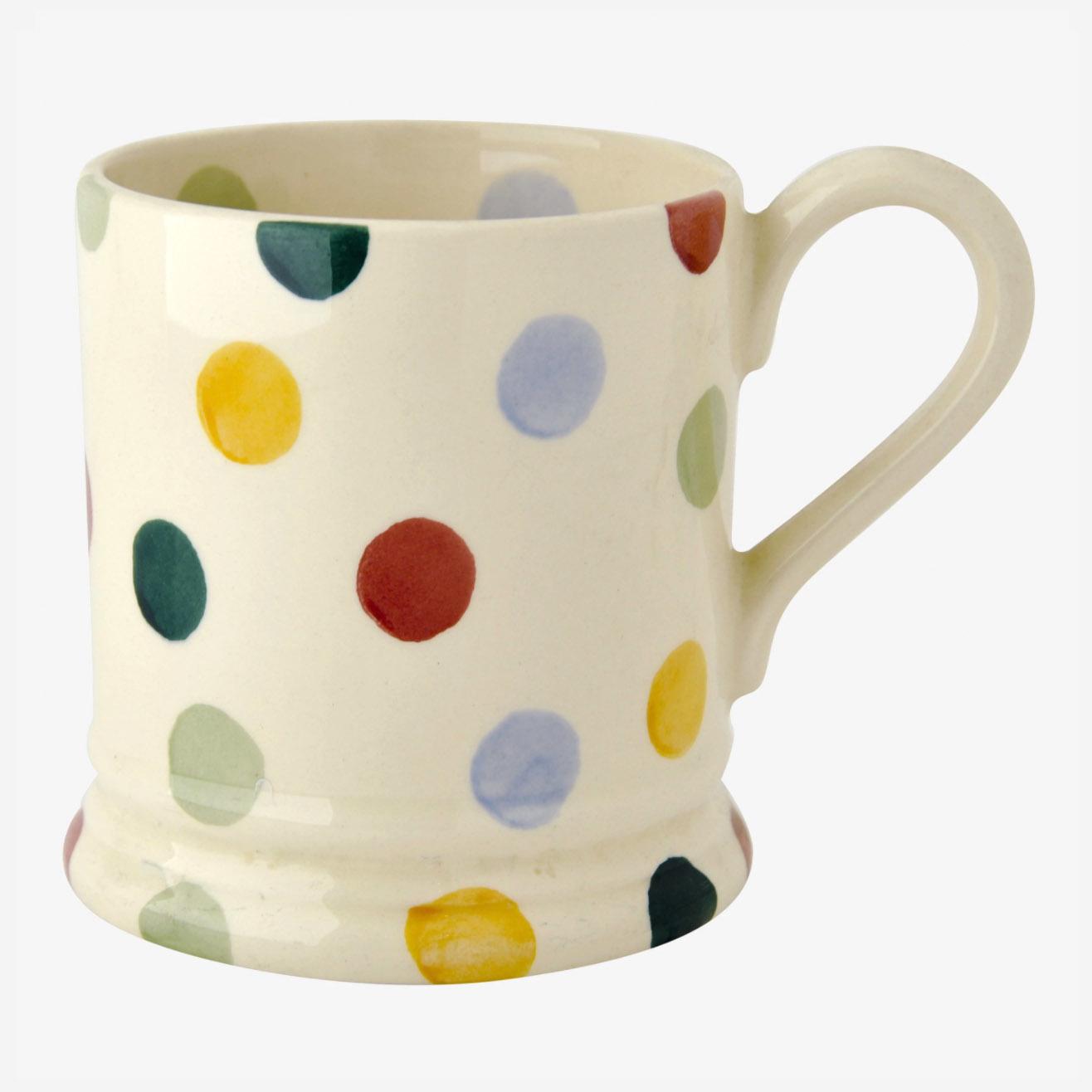 Polka Dot - 1/2 Pint Mug-1