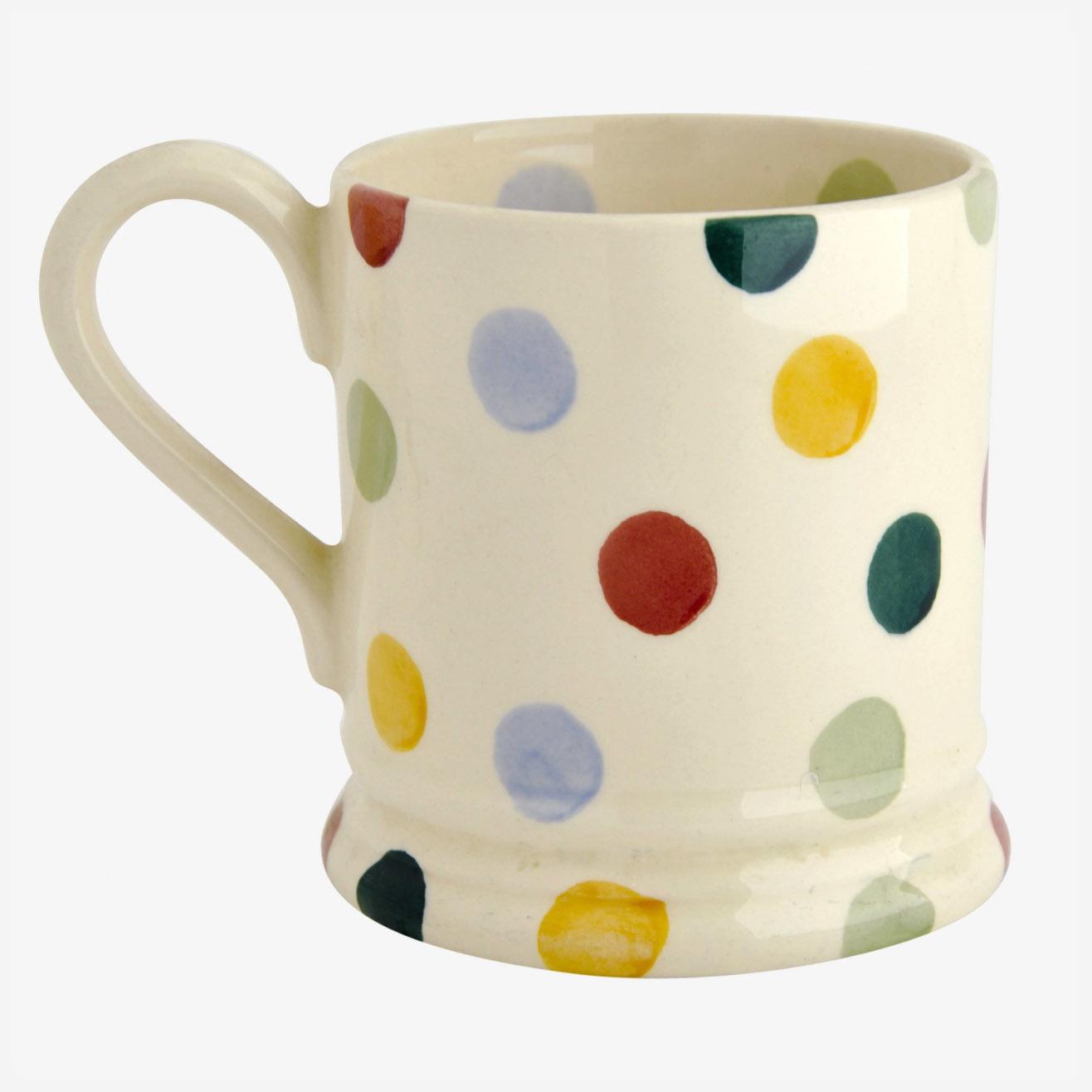 Polka Dot - 1/2 Pint Mug-3