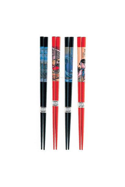 Assorted Chopsticks - Ukiyo-E Print