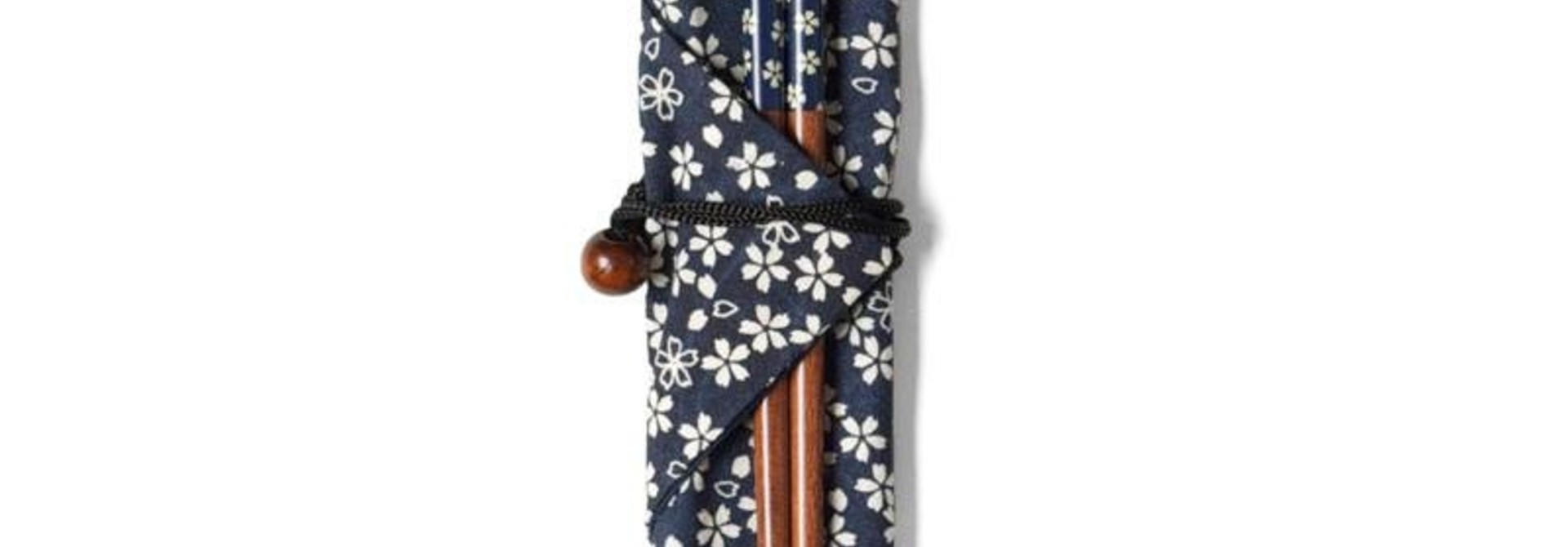 Blue Blossoms Chopsticks With Carrying Case
