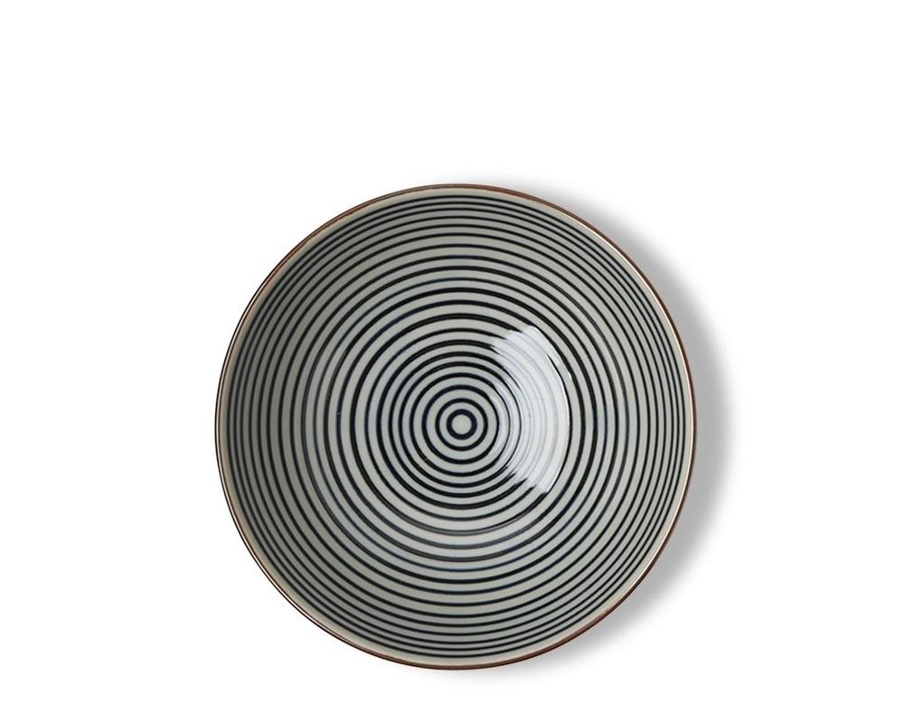 """Celadon Stripes 5.5"""" Rice Bowl-2"""
