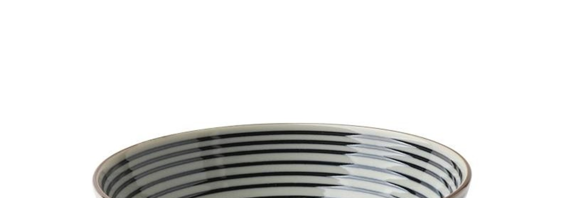 """Celadon Stripes 5.5"""" Rice Bowl"""