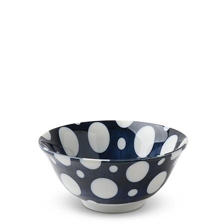 """White Dots 5.75"""" Bowl-1"""