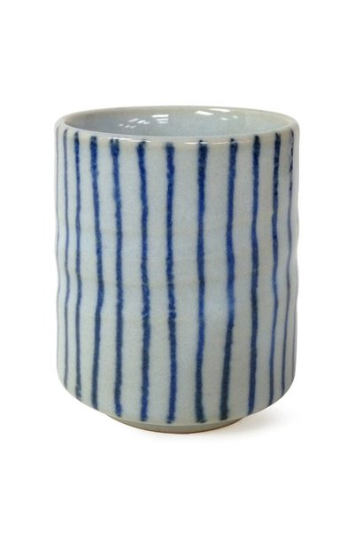 Tokusa Blue Stripes Teacup