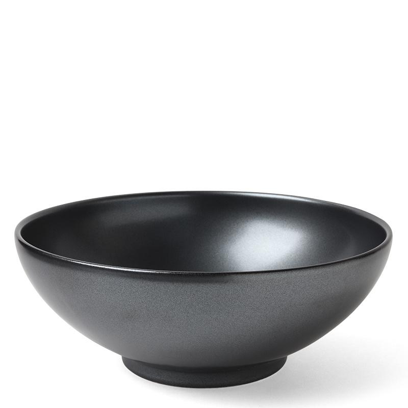 "Iron Glaze - 8.5"" Serving Bowl-1"