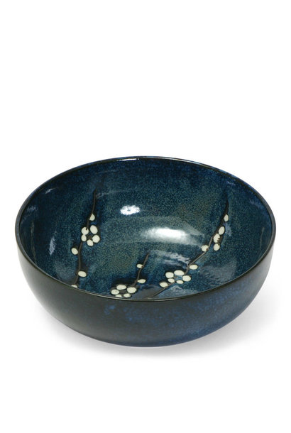 "Namako Blossoms - 9.5"" Serving Bowl"
