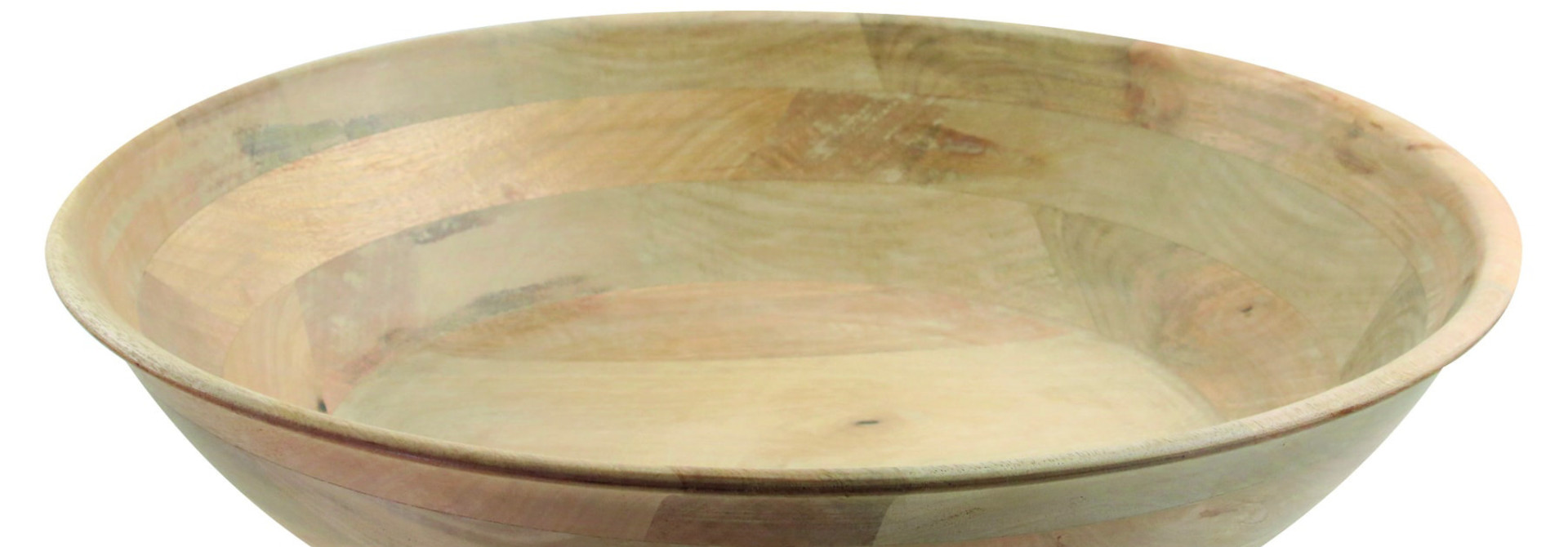Mango Wood Round Bowl  - XL