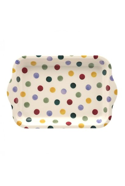 Polka Dot - Small Melamine Tray