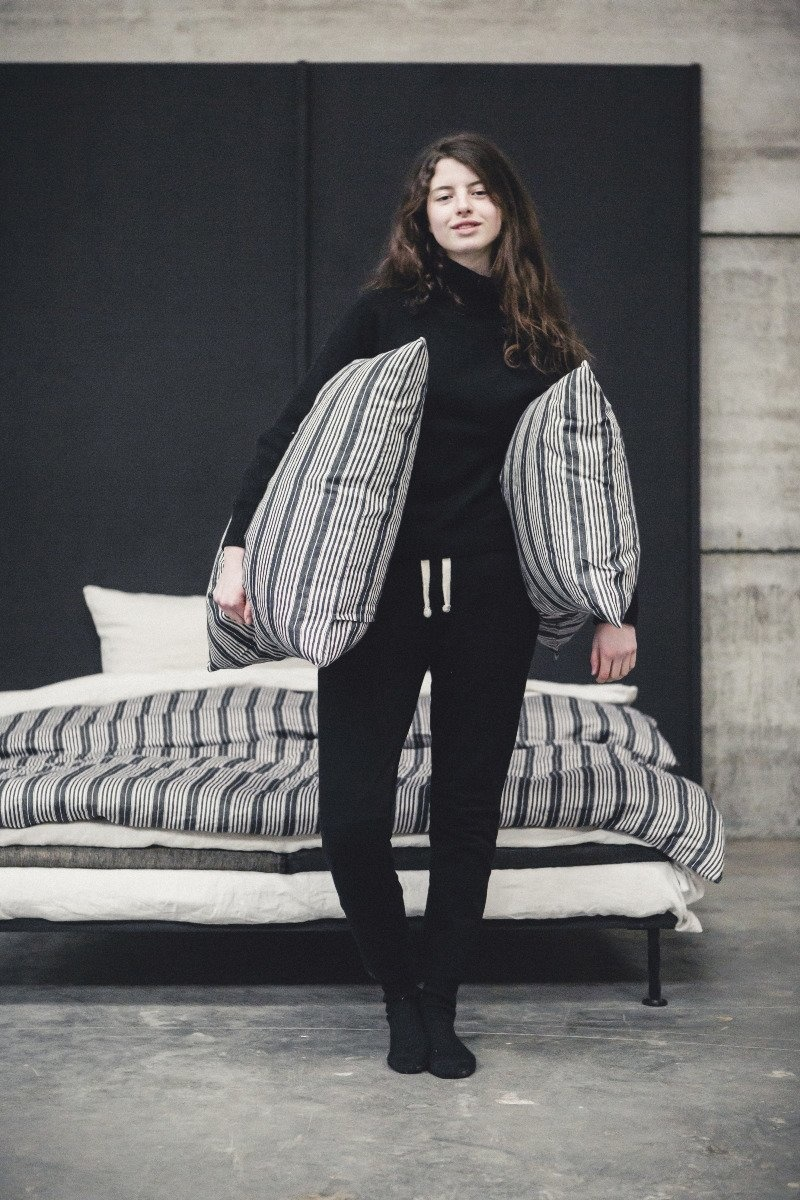 Pillow  Sham- The Tack Stripe - Euro-3