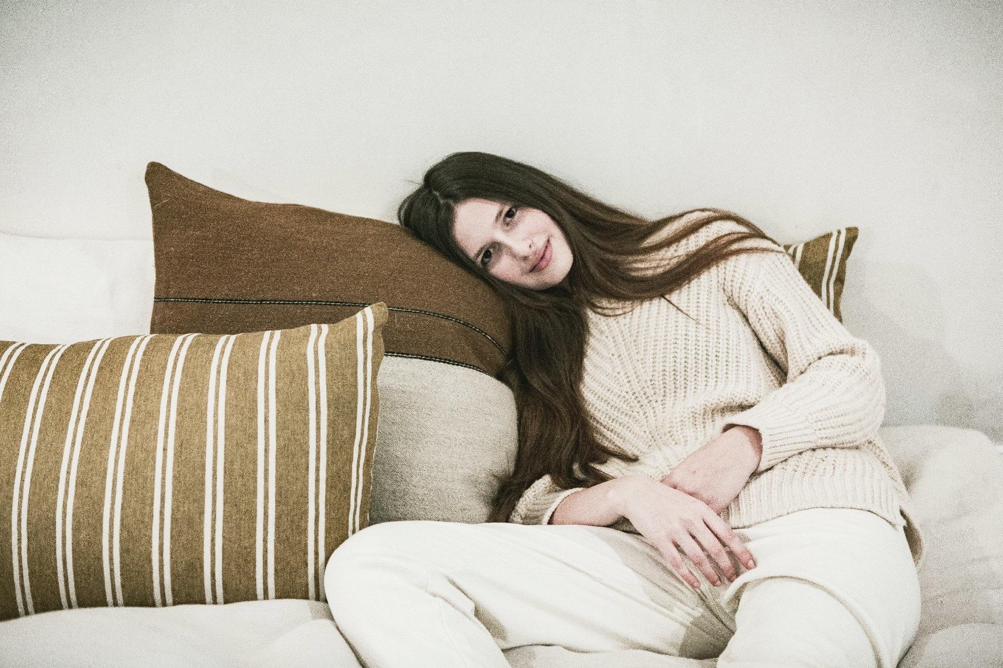 Pillow Sham - Canal Stripe-3
