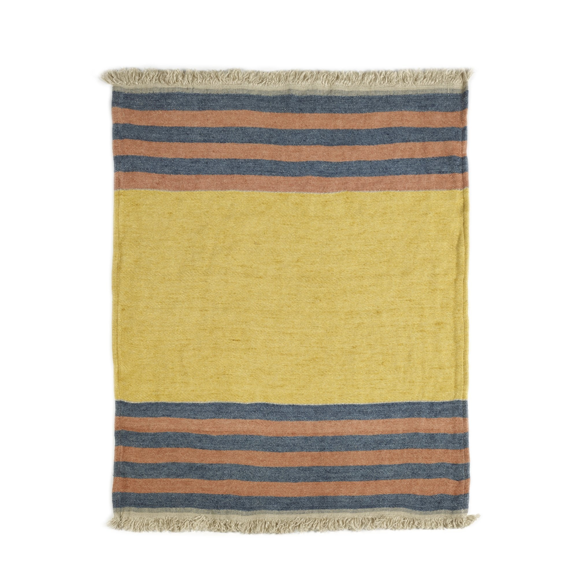 Red Earth Stripe - Hand Towel-2