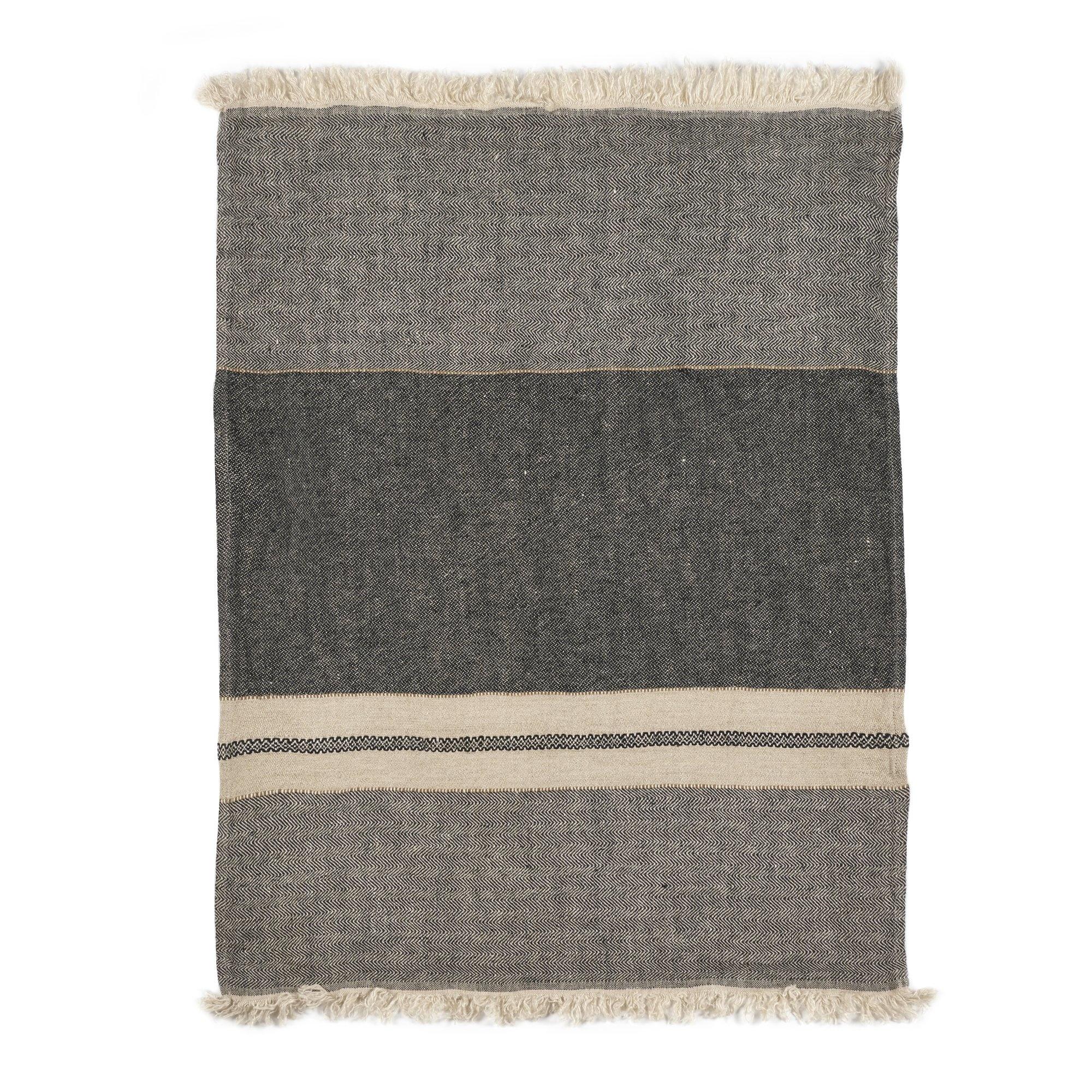 Tack Stripe - Bath Towel-2