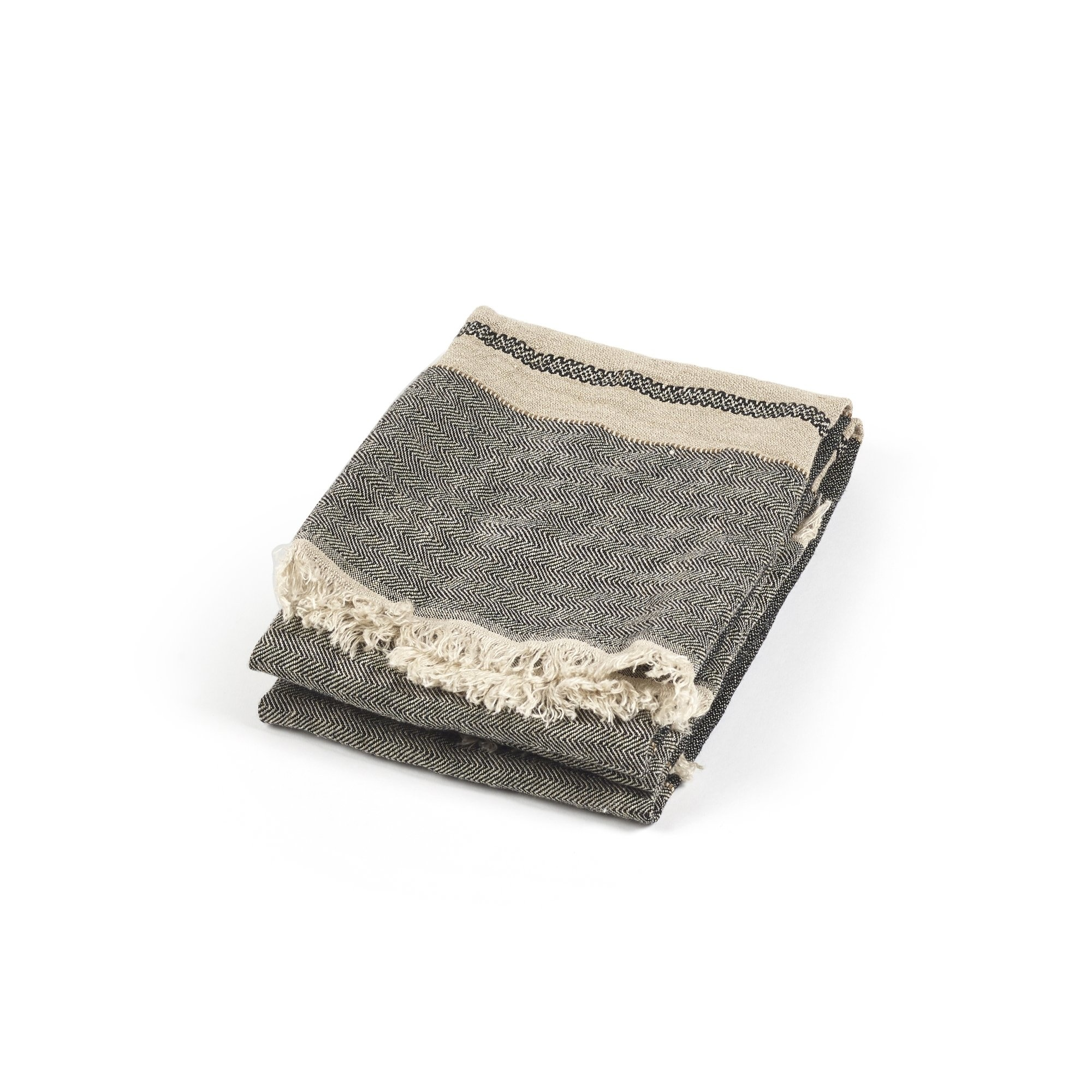 Tack Stripe - Bath Towel-1