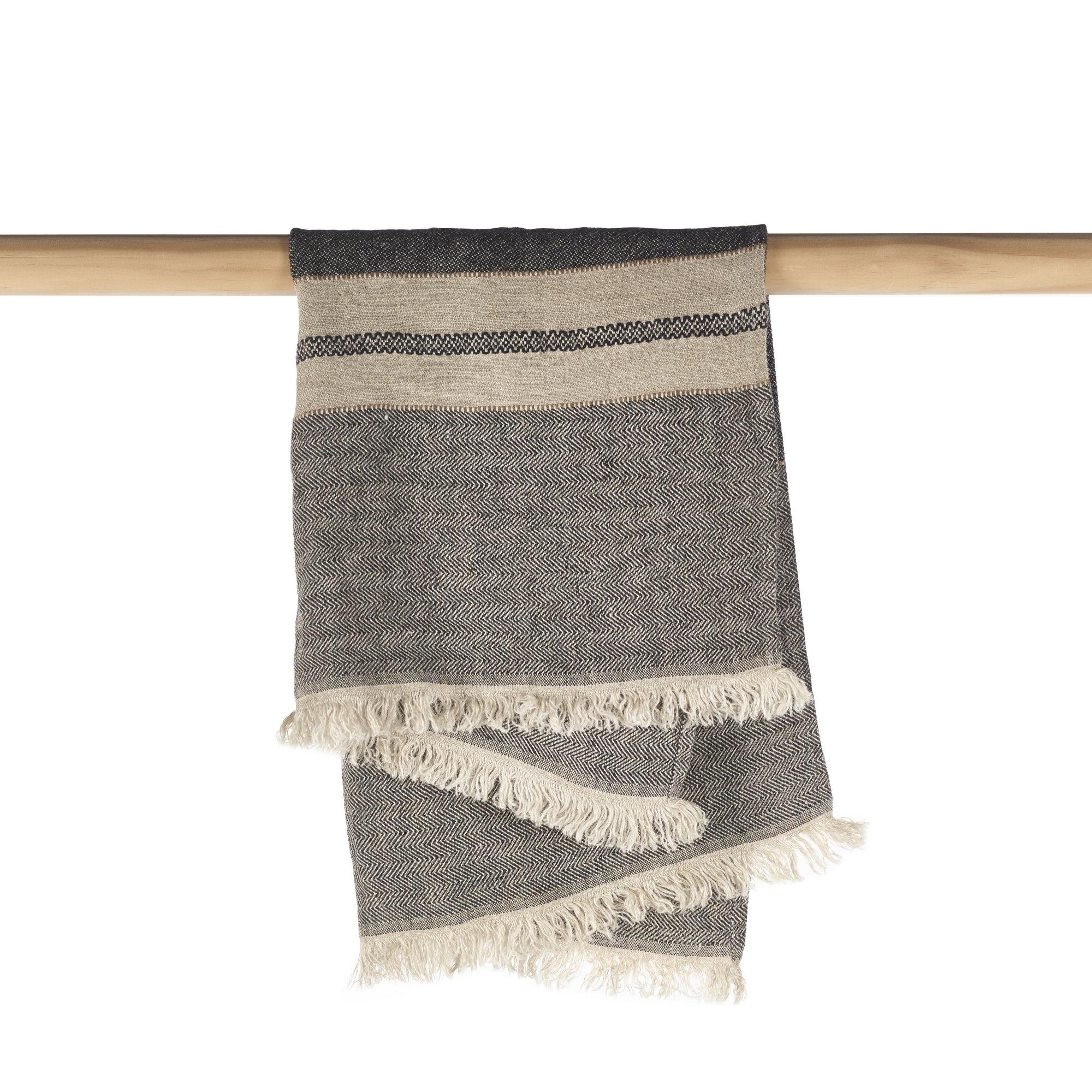 Tack Stripe - Guest Towel-3