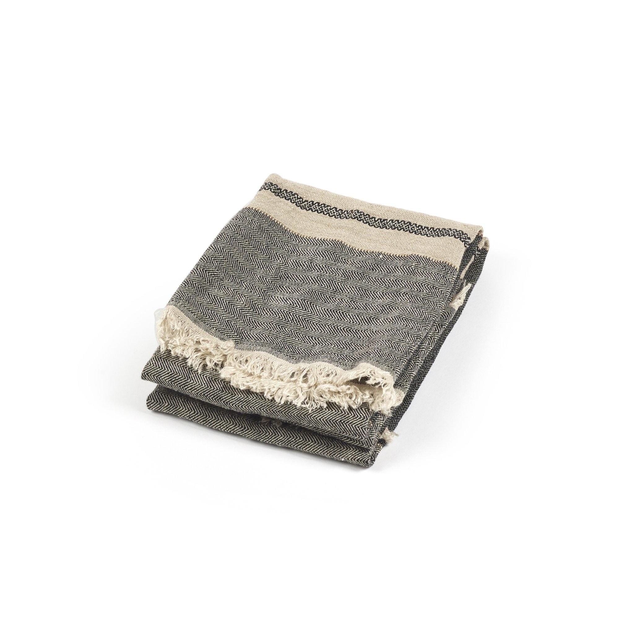 Tack Stripe - Guest Towel-1