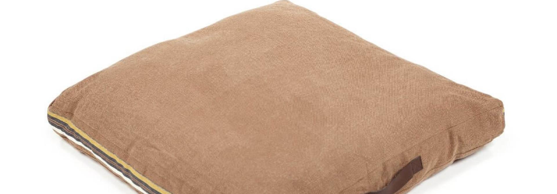 Leroy Floor Cushion - Red Earth