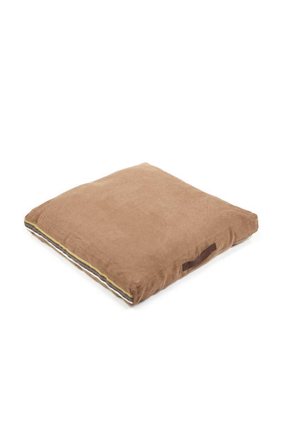 Leroy Floor Cushion - Red Earth