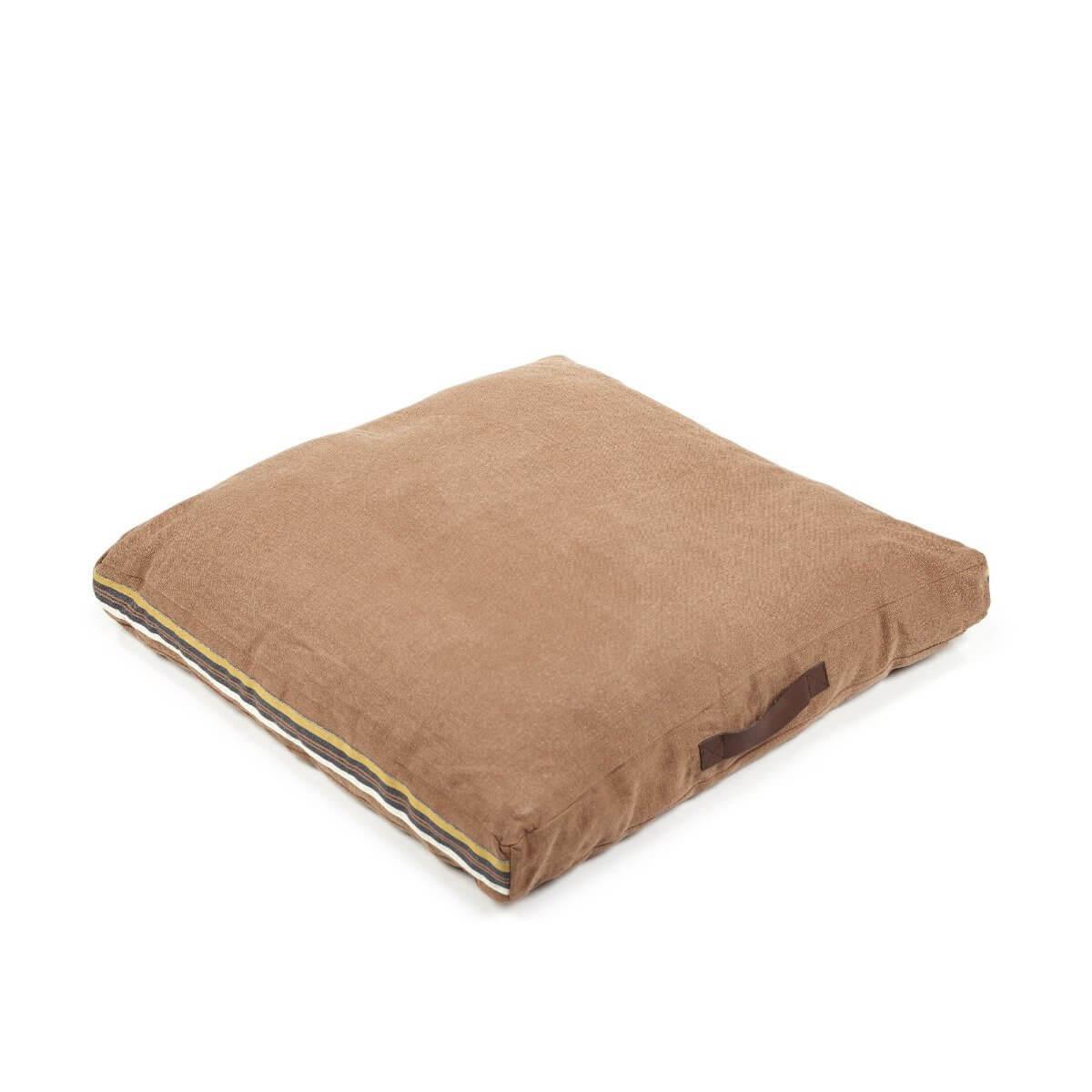 Leroy Floor Cushion - Red Earth-1