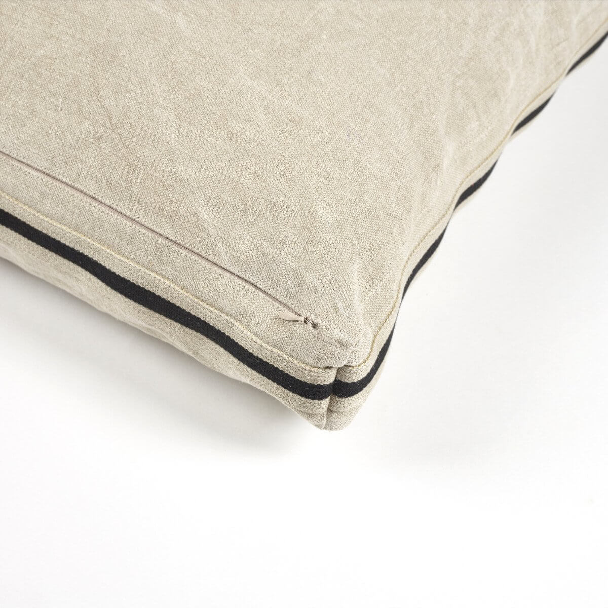 James Floor Cushion - Flax-3