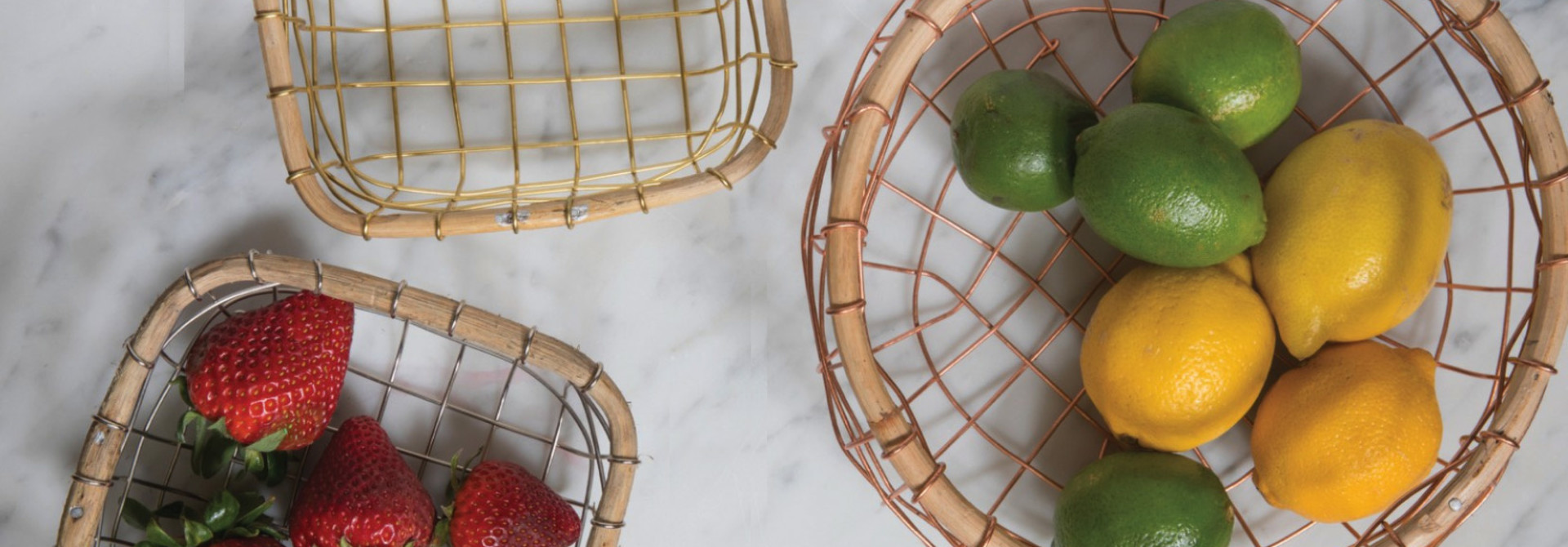 Rattan and Jute - Baskets, Trays...